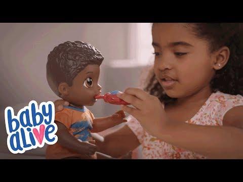 eb815157ed Boneco Baby Alive Meu Primeiro Filho Loiro Hasbro - Fátima Criança