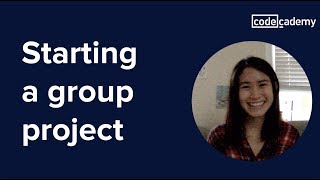 Starting a Group Project