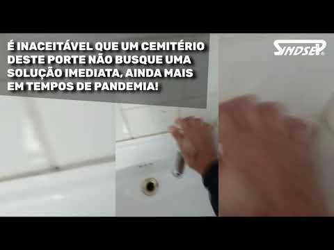 Denúncia de descaso: Cemitério da Vila Formosa há uma semana sem água