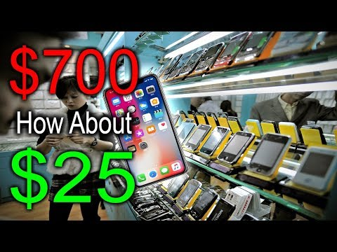 ILLEGAL Knockoff Chinese Markets! (iPhones, Cameras, MORE!)