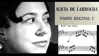(VINYL LP) Debussy / Alicia de Larrocha, 1963: Arabesque No. 1 and 2 in E major and G major