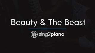 Beauty & The Beast (Piano Karaoke Instrumentals) Ariana Grande & John Legend