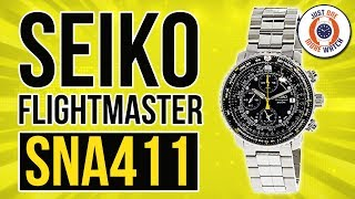 Packed With Features....You'll Never Use! The Seiko Flightmaster