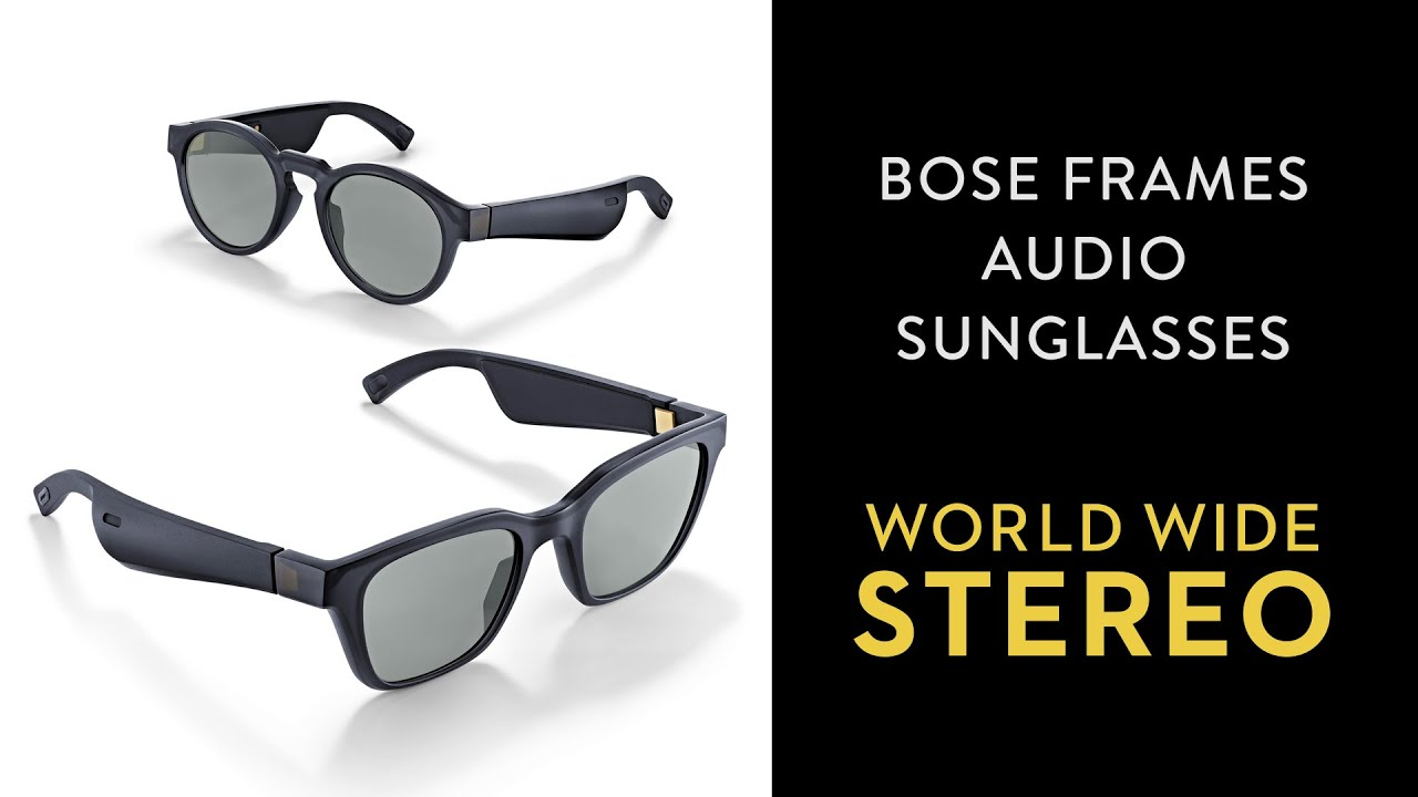 Bose Frames Alto Bluetooth Audio Sunglasses with Integrated