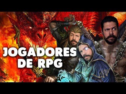 🎲TIPOS DE JOGADORES DE RPG | QG NERD #29
