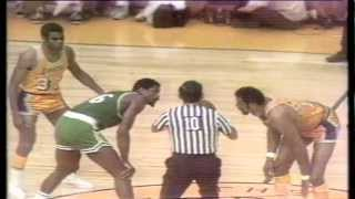 1969 NBA Finals Gm. 7 Celtics vs. Lakers (4th Quarter)