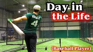 A Day in the Life of a College Athlete: Baseball Player