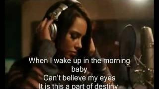 "Alicia Keys ""Speechless""  feat Eve with Lyrics 2011"
