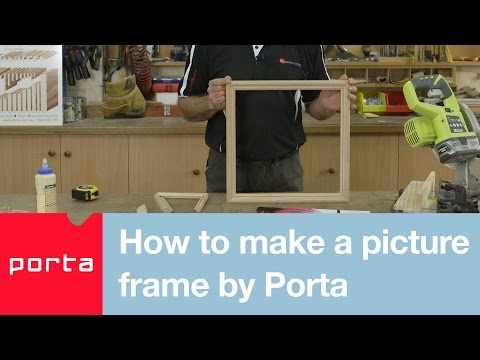 How to make a picture frame by Porta