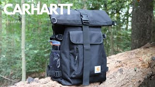 Carhartt Philis Backpack Rugged Roll-top Working Man's Everyday Carry (EDC)
