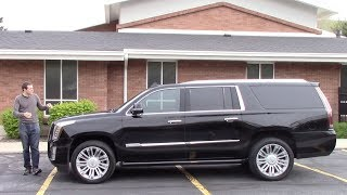 Here's a Tour of a $100,000 Cadillac Escalade