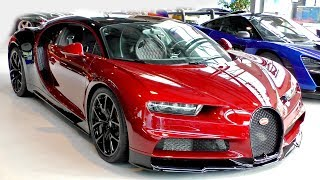 $3.5Million Ruby Red BUGATTI CHIRON looks stunning!