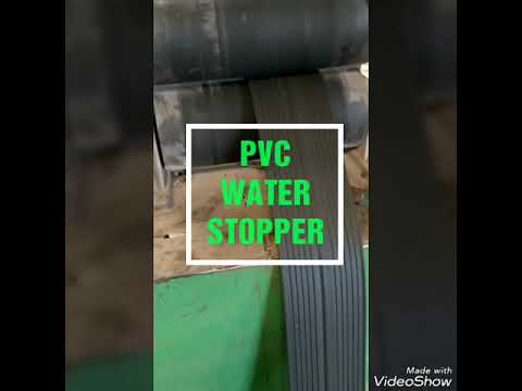 68 Shore A PVC Water Stopper