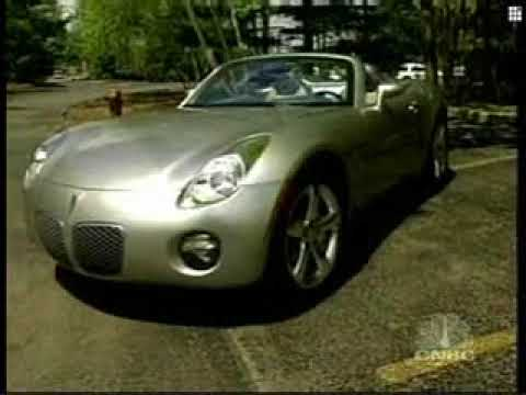 "2006 Pontiac Solstice on CNBC's ""Behind the Wheel"""