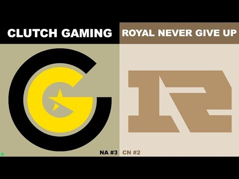 CG vs RNG - Worlds 2019 Group Stage Day 7 - Clutch Gaming vs Royal Never Give Up