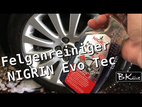 Felgenreiniger NIGRIN EVO TEC [Verschmutzung Felge Bremsstaub Alufelge] Autopflege Rad Opel Insignia