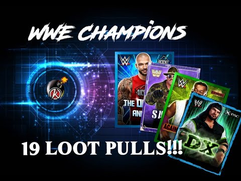 WWE Champions - 19 Loot Pulls!!!