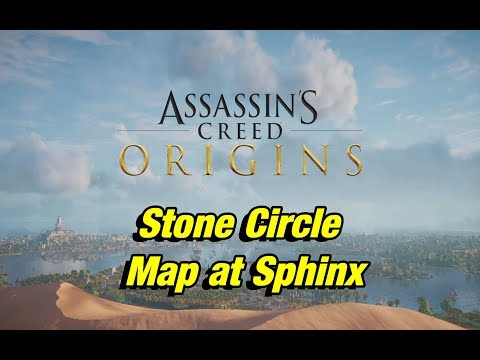 assassin s creed origins stone circle map at sphinx passagew