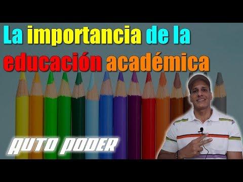 La importancia de la educación académica