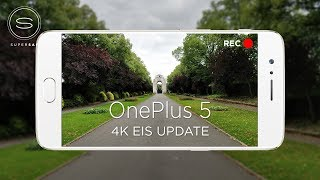 OnePlus 5 4K EIS Video Update Test (vs Apple iPhone 7 Plus & Samsung Galaxy S8)