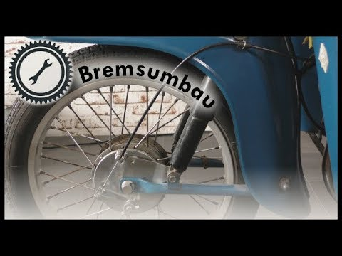 Bremsumbau Vorderrad Simson Vogelserie - Schwalbe KR51, SR4 Tutorial