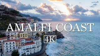 Amalfi Coast By Drone (4K)