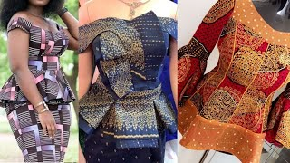 African Fashion : Ankara Styles || Aso Ebi Styles || 2020 Ankara Peplum Styles For Classy Ladies