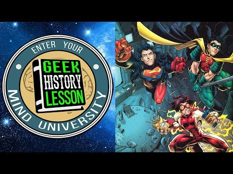 History of Young Justice - Geek History Lesson