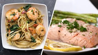 7 Healthy Low-Calorie Seafood Dinners