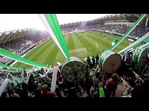 """""""Recibimiento Los Devotos (Deportes Temuco) de local Vs Colo Colo"""" Barra: Los Devotos • Club: Deportes Temuco"""