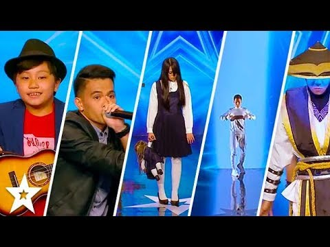 TOP 5 MOST AMAZING AUDITIONS on Asia's Got Talent 2017 | Got Talent Global (видео)