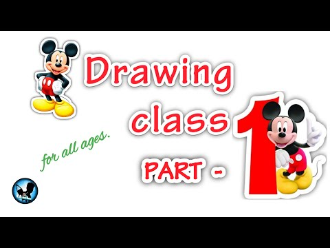 Online drawing class part - 1/ how to draw a basic drawing/Drawing class in Tamil/ Chandru