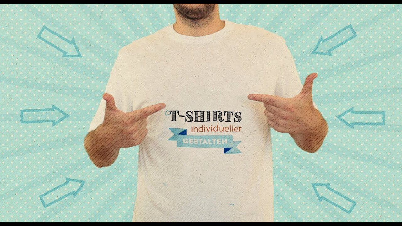 Video: T-Shirt individueller gestalten