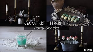 DIY 'Game of Thrones' Party Snacks
