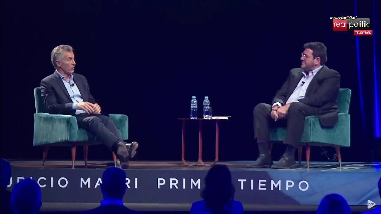 """Mauricio Macri presenta su libro """"Primer Tiempo"""""""