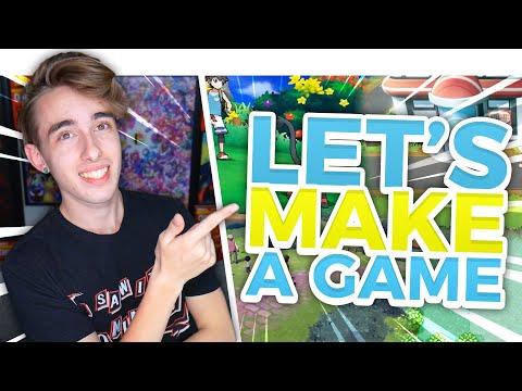 LET'S MAKE A POKEMON GAME!!