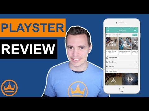 Best Audiobook App – Playster vs Audible