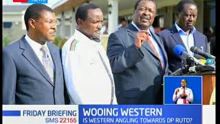 DP William Ruto's meeting with leaders from the West raises eyebrows ahead of 2022