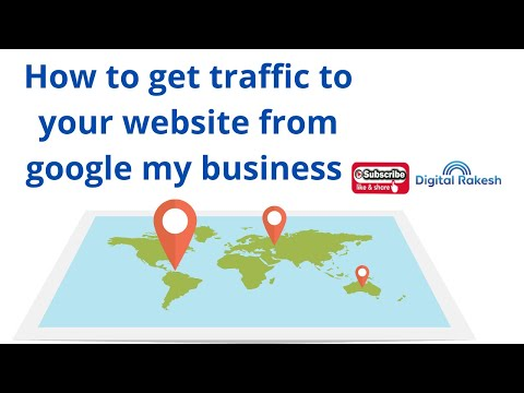 How to get traffic to your website from google my business