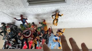 DISPLAY: [MARVEL LEGENDS] - How To Pose Marvel Legends Action Poses  PART 1