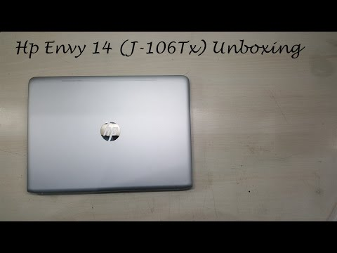 Hp Envy 14(J-106Tx) Unboxing & Hands on Review
