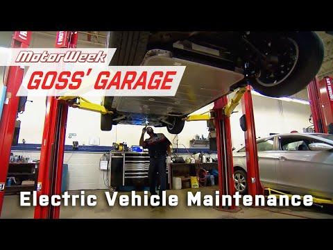 Routine Electric Vehicle Maintenance   Goss' Garage