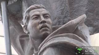 В Астане открыли памятник Рахимжану Кошкарбаеву