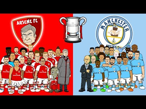 🏆ARSENAL Vs MAN CITY - The FINAL!🏆 (Carabao Cup League Final Preview 2018)