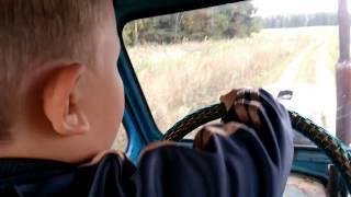 Выпуск 48 ремонт трактора, косим батву батворезом
