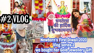 New Born's FIRST Diwali vlog 1, We Bought Her Diwali Gifts,2020 Diwali Vlog Series SuperPrincessjo