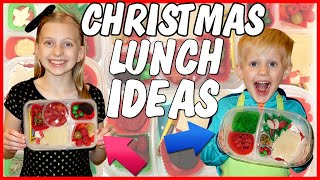 Kid Size Cooking: Christmas Themed School Lunch Ideas