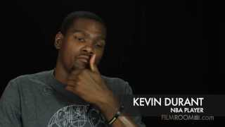 Kevin Durant on being 6 feet tall in middle school