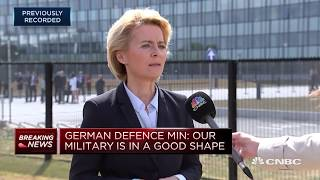 Russia Gas Pipeline Does Not Compromise Our Security: German Defense Min | Street Signs Europe