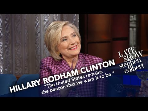 Clinton Answers Question: Will You Run For President Again?